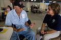 FEMA - 39170 - FEMA Representative speaks with a resident in Puerto Rico.jpg