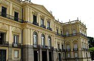 Fachada Museu Nacional - UFRJ