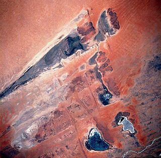 lake in Mali