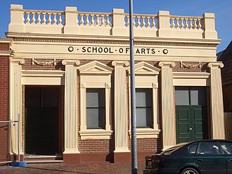 Fairfield, New South Wales - Image: Fairfield School of Arts