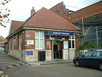 Fairlop tube station - Station entrance