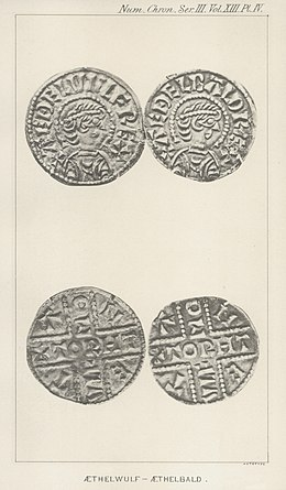 Fake coins of Æthelwulf and Æthelbald