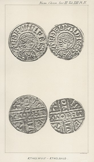 Æthelbald, King of Wessex - Fake coins of Æthelwulf and Æthelbald