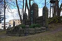 Familien Gude, gravminne på Vår Frelsers gravlund, Oslo, bilde 1.JPG
