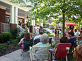 Fans Enjoying Franklin (Westhaven), Tennessee Porchfest.JPG
