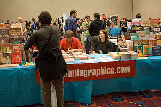 Fantagraphics Books - The Fantagraphics booth at the Stumptown Comics Fest 2006.