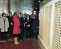 Farah Pahlavi in Al-Hamza Mosque of Kashmar.jpg