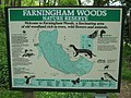 Farningham Woods Information Sign - geograph.org.uk - 1302762.jpg