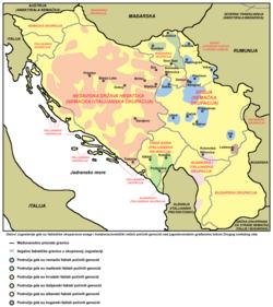 mapa srbije i hrvatske Срби у Хрватској — Википедија, слободна енциклопедија mapa srbije i hrvatske