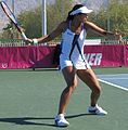 Fed Cup Group I 2011 Europe Africa day 1 Anne Keothavong 001.jpg