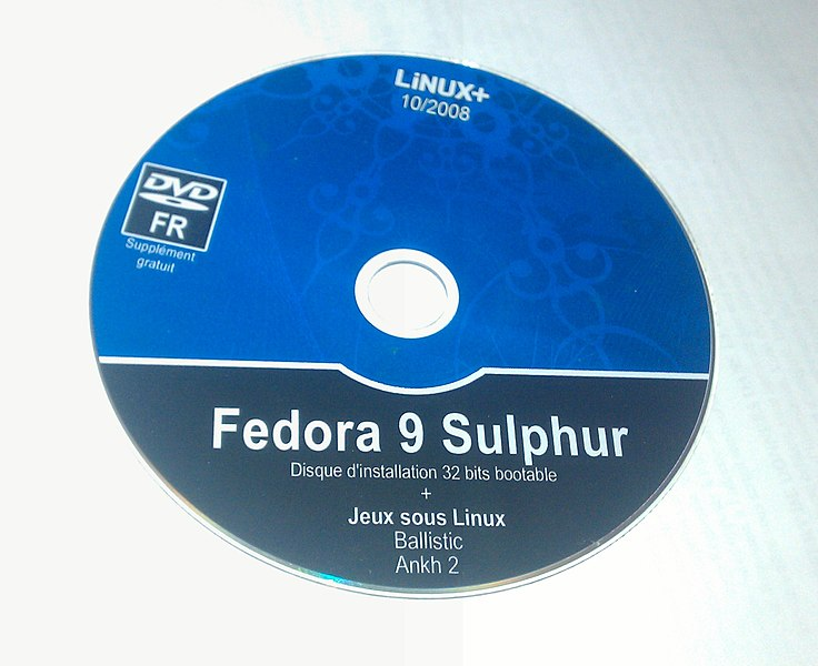 Free Fedora 9 DVD available in the press (Linux+ 10/2008 Edition)