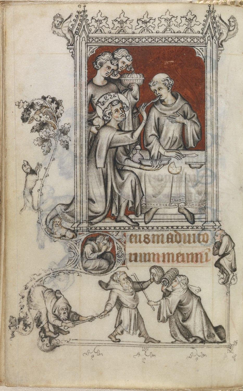 Feeding of the Leprous Monk (Lauds) MET