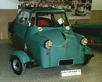 Felber Autoroller - Image: Felber Autoroller 1953
