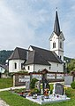 Feldkirchen Radweg Pfarrkirche hl Radegund 24072015 6116.jpg