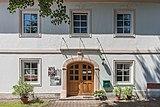 Feldkirchen Waiern Martin-Luther-Straße 4 evangelische Pfarrgemeinde Portalwand 20072019 6841.jpg
