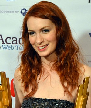 Felicia Day - Felicia Day at the 2012 IAWTV Awards Red Carpet during CES in Las Vegas