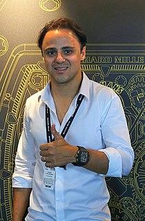 Felipe Massa Brazilian racecar driver
