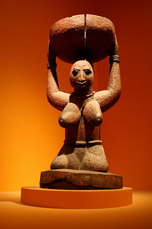 Igbomina - Image: Female figure from Oke Onigbin, Shango Shrine