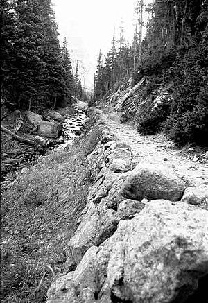 Fern Lake Trail - Image: Fern Lake Trail