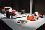 Fernando Alonso 1983 kart and McLaren MP4-4 2017 Museo Fernando Alonso.jpg