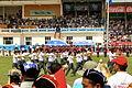 Festiwal Naadam na stadionie narodowym w Ułan Bator 16.JPG