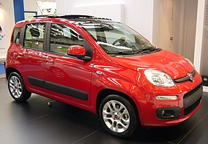 English: Fiat Panda at IAA Frankfurt 2011 (Tom...
