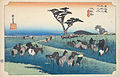 Fifty-Three Stations Tokaido (Chiryu) by Hiroshige (Shimane Art Museum).jpg