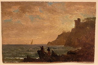 Figures along the Coast of Italy
