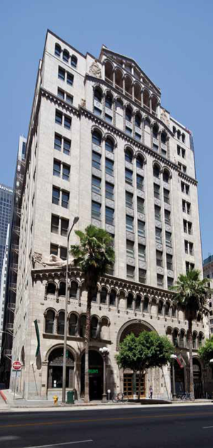 Walker & Eisen - Fine Arts Building, Downtown LA.
