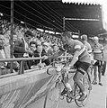 Finish Tour de France in het Parc des Prince in Parijs Wim van Est gefotografeer, Bestanddeelnr 908-7905.jpg