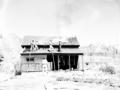 Fire prevention training; demonstration for students of Springdale school. Burning of old Justet home adjacent to Springdale (98b3bf1cfb304b04acd05477530f2527).tif