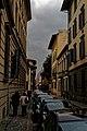 Firenze - Florence - Via Gino Capponi - View SW along Palazzo di Gino Capponi 1702 by Carlo Fontana II.jpg