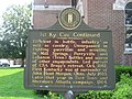 First Kentucky Cavalry historical marker, side 2.jpg