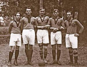Lithuania men's national basketball team - Lietuvos Fizinio Lavinimo Sąjunga (LFLS) had one of the first male basketball teams in Lithuania, back in 1923.