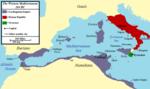 Западно Средоземље на почетку Првог пунског рата