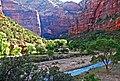 First Sun, Zion's North Canyon 5-14 (15767251884).jpg