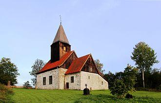 Eiker - Fiskum gamle kirke is a medieval stone church