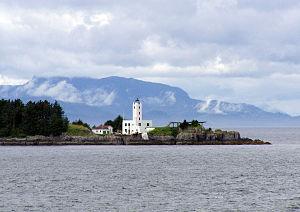 Petersburg Borough, Alaska - Image: Five Finger Light House 49