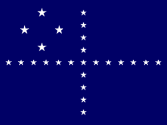 Flag of Brazil - Image: Flag of a Brazilian Navy admiral