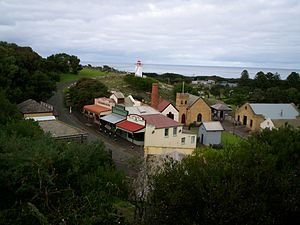 Warrnambool - Overview of the Flagstaff Hill Maritime Museum