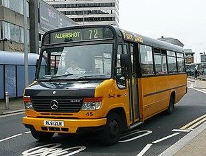 Fleet Buzz - Mercedes-Benz Vario in Reading in June 2008