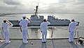 Flickr - Official U.S. Navy Imagery - Sailors salute the guided-missile destroyer USS Kidd..jpg