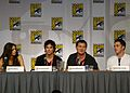 Flickr - vagueonthehow - Nina Dobrev, Ian Somerhalder, Kevin Williamson ^ Michael Trevino (6).jpg