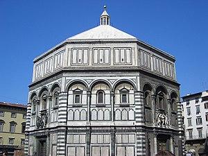 Florence Baptistery - Florence Baptistry (Battistero di San Giovanni).