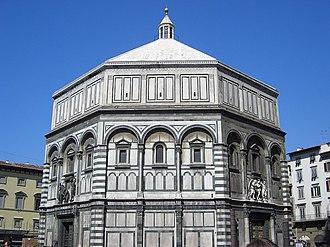 Florence Baptistery - Florence Baptistery (Battistero di San Giovanni).