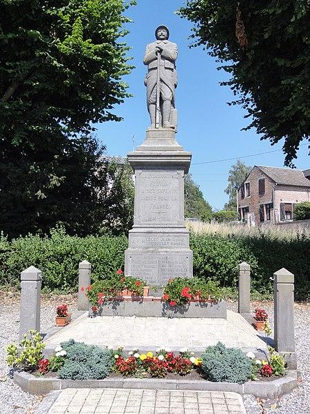 Floyon (Nord, Fr) monument aux morts