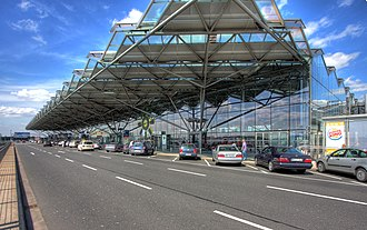 Cologne Bonn Airport - Exterior of Terminal 2