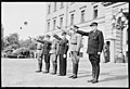 """Fo30141711140078 """"Reservebataljon Holmestrand paraderer for Quisling på Slottsplassen"""" 1942-06-14 (NTBs krigsarkiv, Riksarkivet).jpg"""