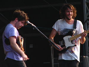 Total Life Forever - Foals supporting Blur in Hyde Park, London, 2 July 2009