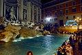 Fontana di Trevi (Trevi Fountain) by night (16956853762).jpg